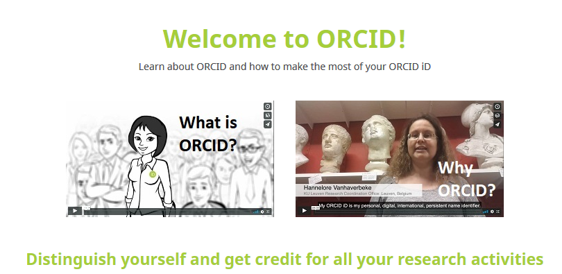 orcid help